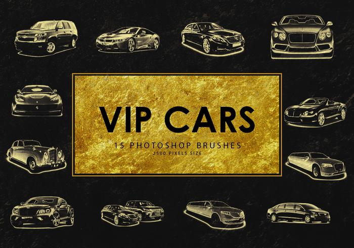 Vip Car Photoshop-penselen 1