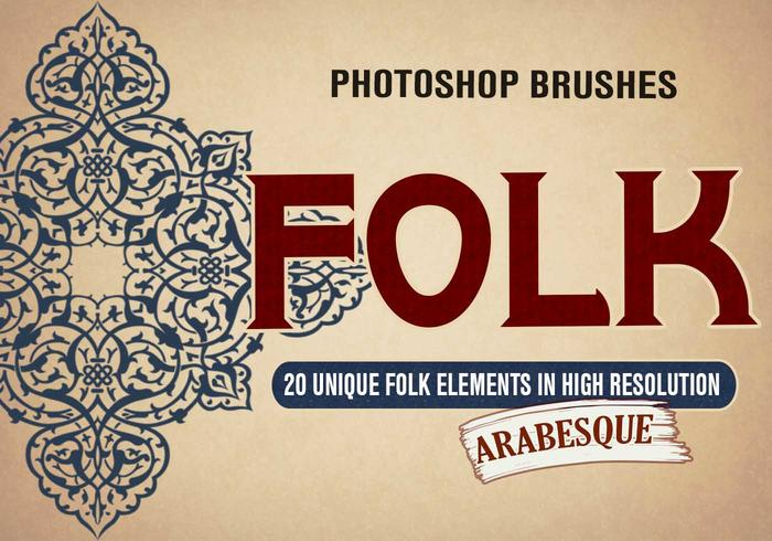 20 Folk Arabesque PS Brosses abr. vol.3
