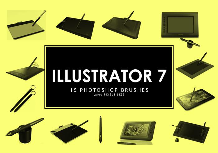 Pinceles para Photoshop Illustrator 7