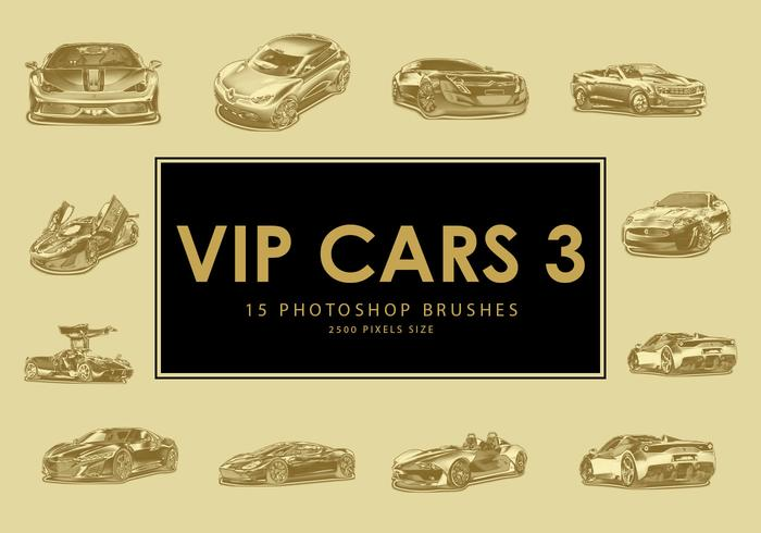 Vip Car Photoshop Brushes 3
