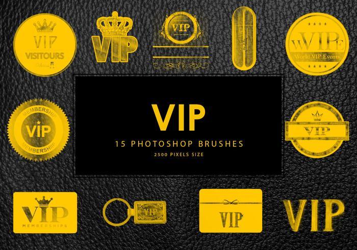 Pinceaux Photoshop Vip