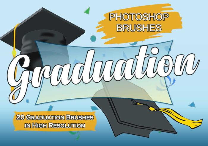 20 Graduation PS Brushes abr. vol.1
