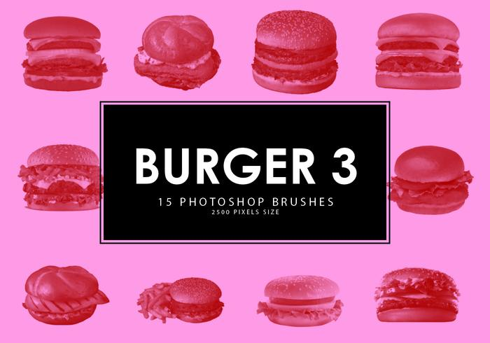 pinceles de hamburguesas photoshop 3