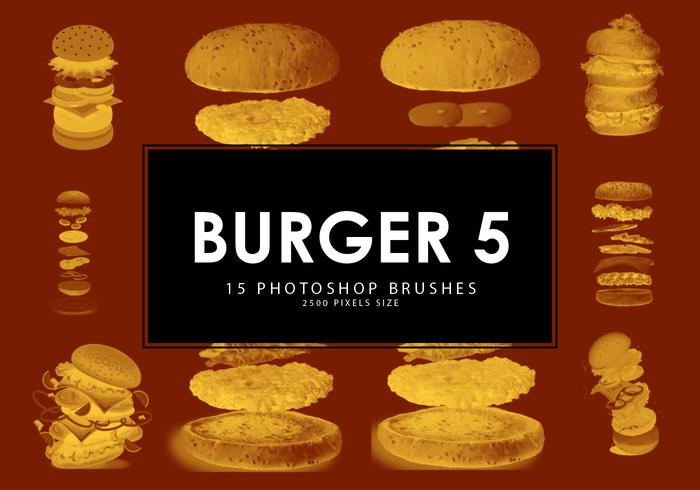 Burger Photoshop Pinsel 5