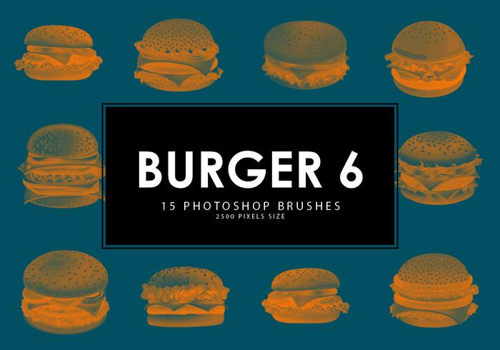 Burger Pinceles para Photoshop 6