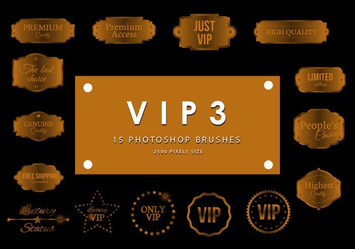 VIP Photoshop Brushes 3