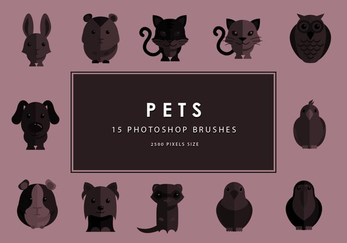 Pets Photoshop Brushes