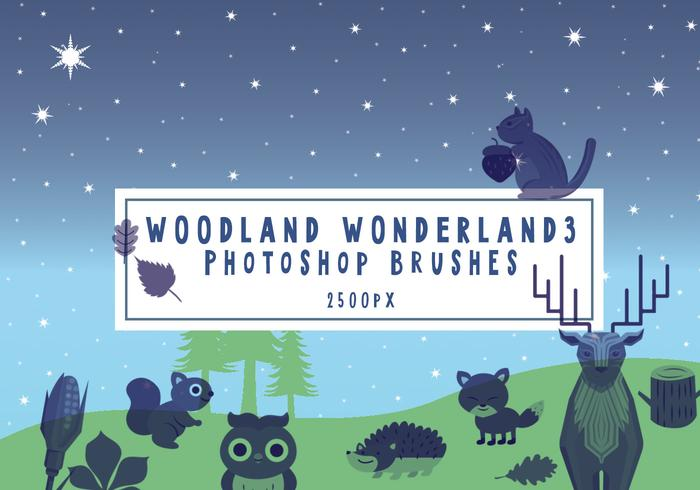 Brosses Photoshop Woodland Wonderland