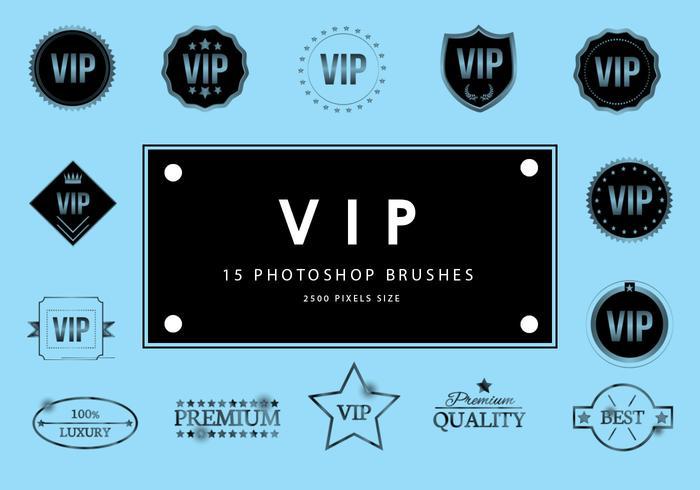 Pincéis de Photoshop vip 2