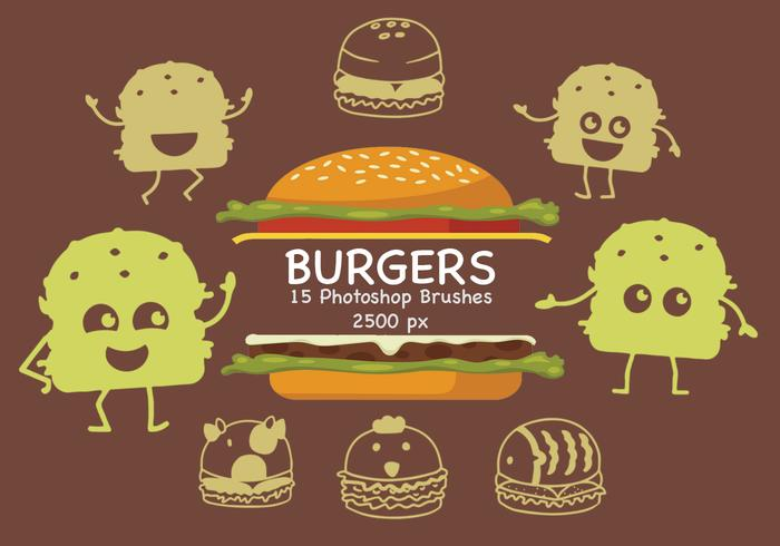 Burger Photoshop Pinsel
