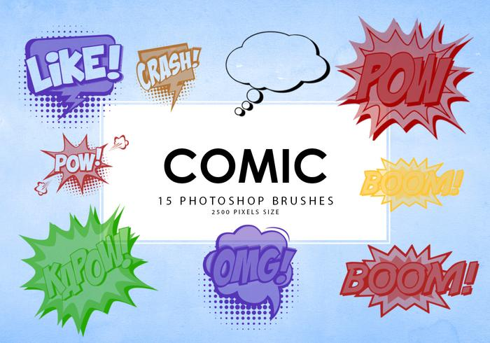 Comic Photoshop Pinsel