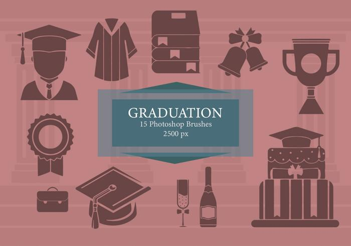 Graduation Photoshop Brushes