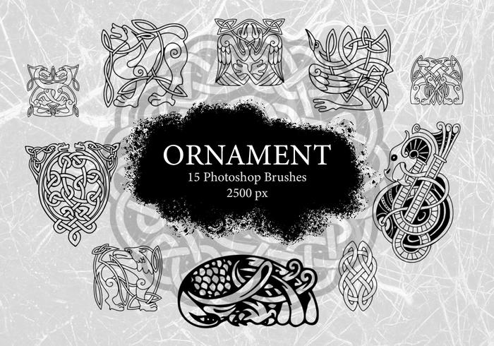 Ornament Photoshop-penselen