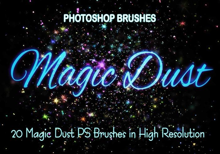 20 Magic Dust  PS Brushes abr.