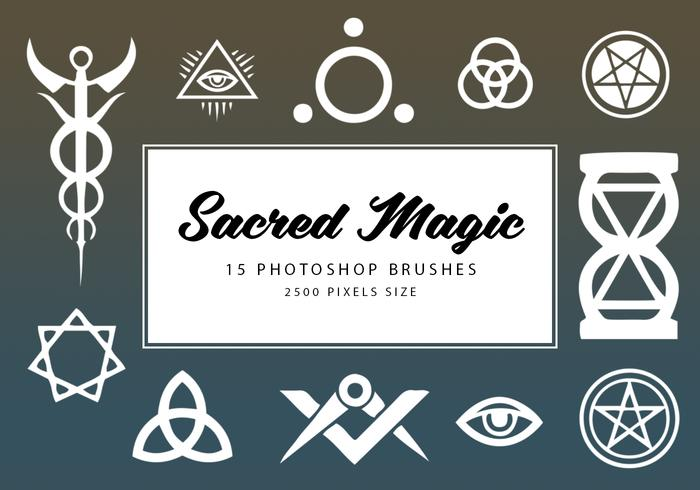 Sacred Magic Photoshop Brushes