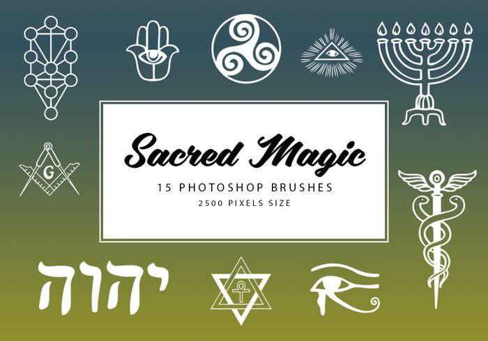Sacred Magic Photoshop Borstar