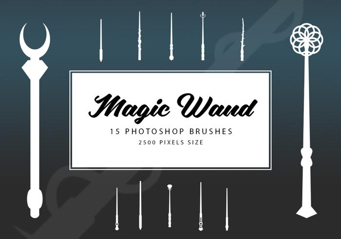 Magic Wand Photoshop Pinceaux