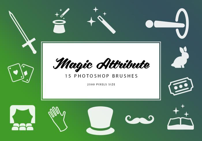 Attributs magiques Photoshop Brushes
