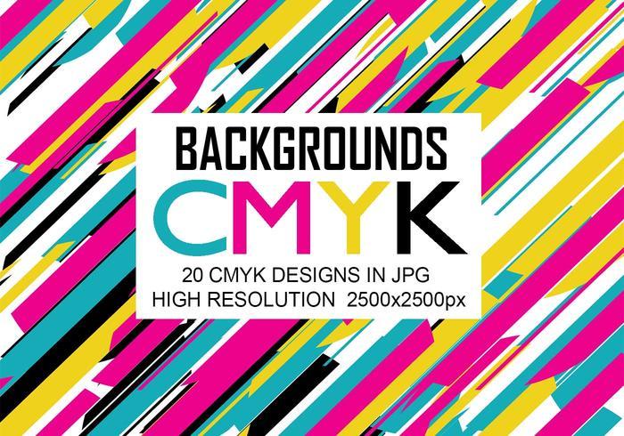 20 fondos de Cmyk JPG de alta resolución