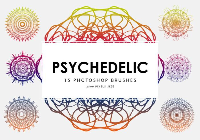 Psychedelic Photoshop Brushes