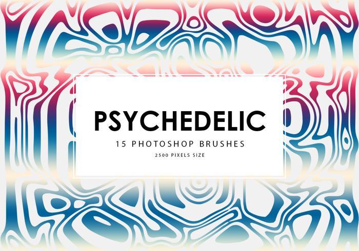 Psychedelische Photoshop-penselen