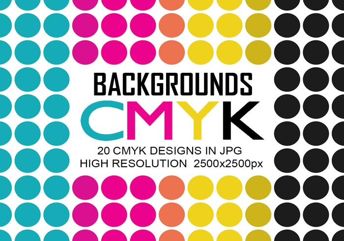 20 Cmyk Backgrounds JPG High Res