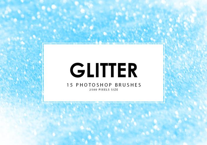 Glitter Photoshop Brushes