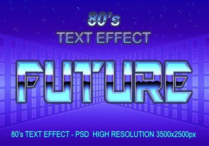 80's Text Effect PSD - Free Photoshop Brushes at Brusheezy!