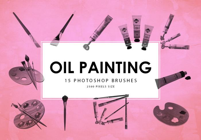 Oil Painting Tools Pinceles para Photoshop