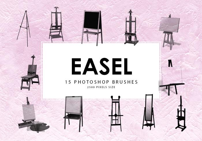 Easel Photoshop Brushes