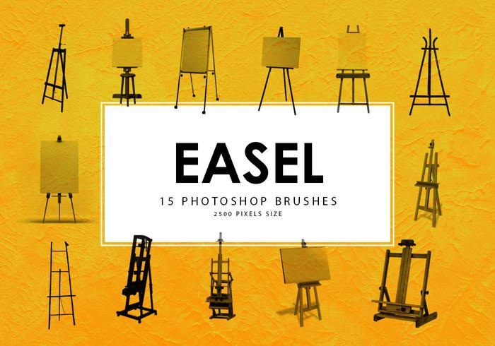 Easel Photoshop Brushes