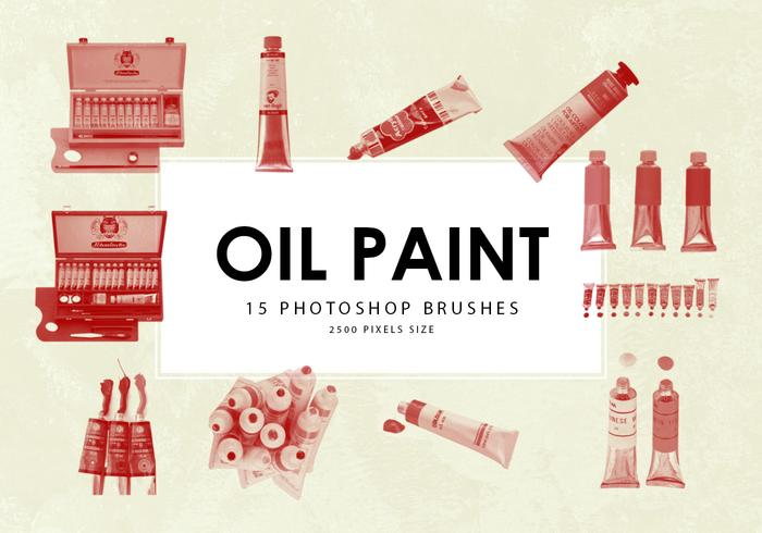 Oil Paint Photoshop Brushes