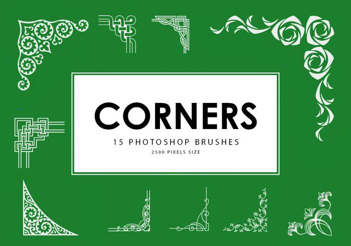Corners Pinceles para Photoshop