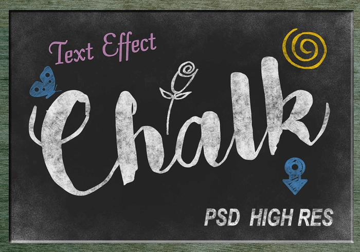 Kalk Text Effect PSD