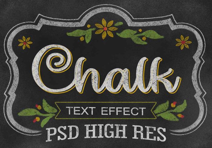 Kalk Text Effect PSD
