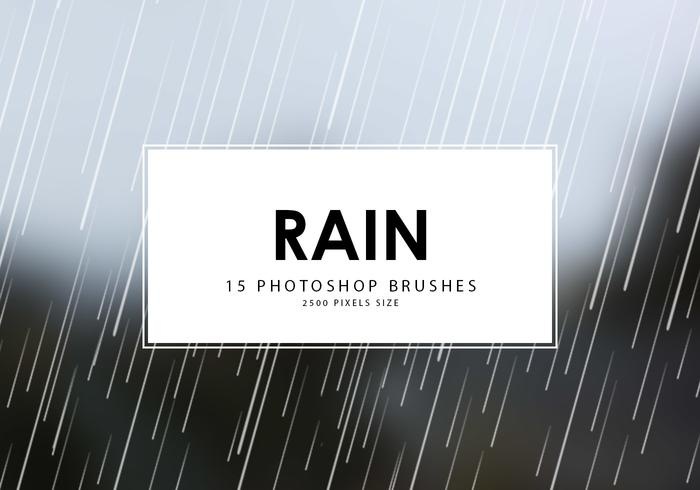 Chuva Photoshop Brushes