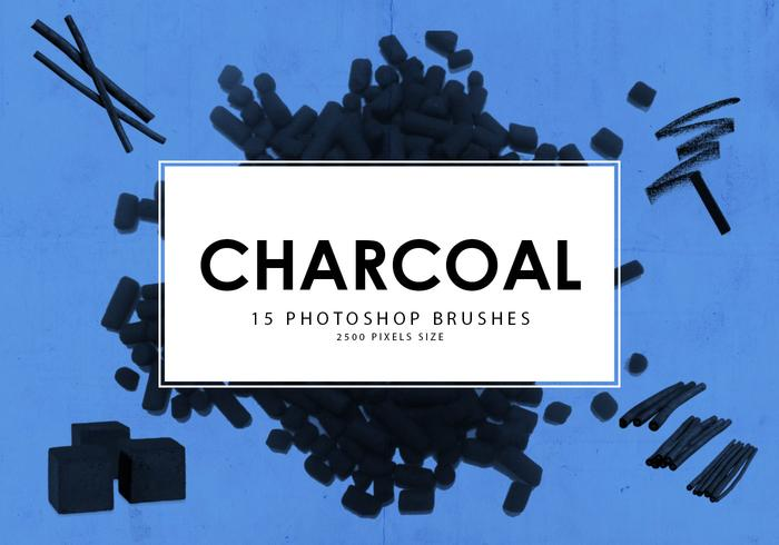 Charcoal Photoshop-penselen