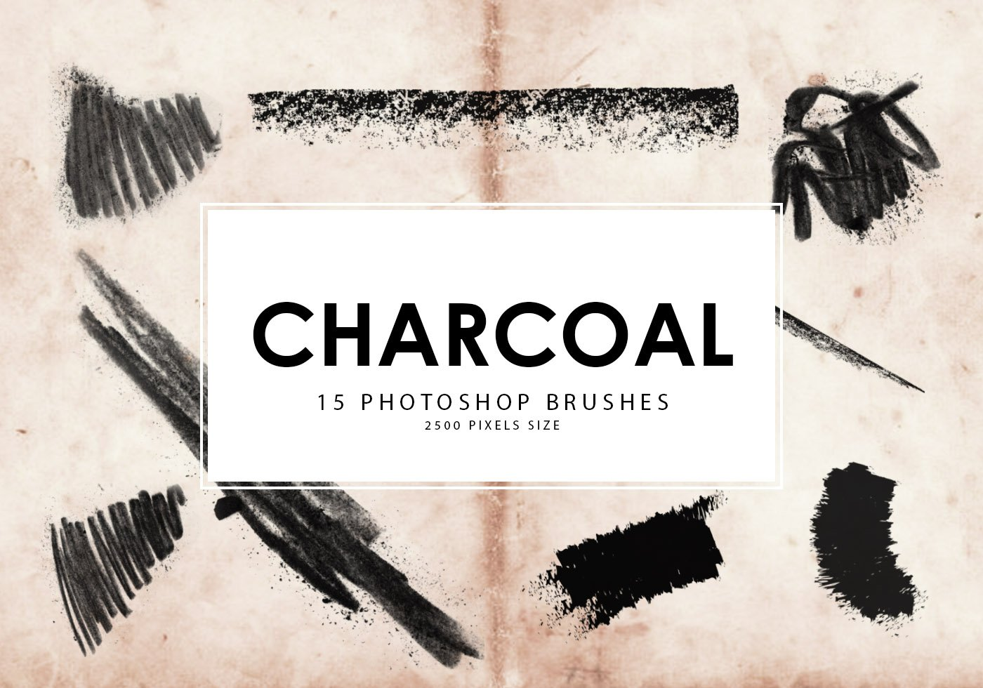 Charcoal Free Brushes - (121 Free Downloads)