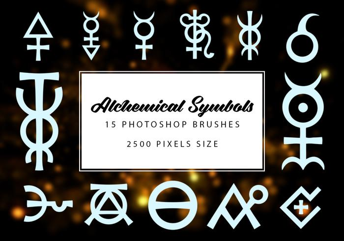 Alchemical Symbols Brushes