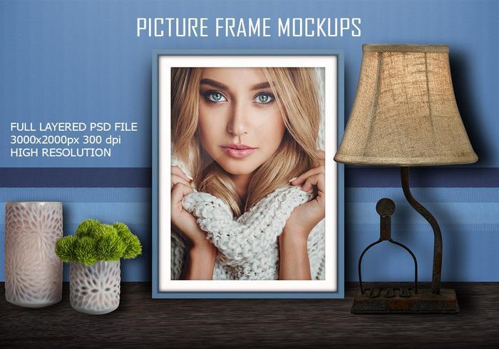 Mockup do quadro de imagem PSD