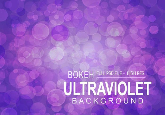 Ultraviolet Bokeh - Vollständige PSD-Datei
