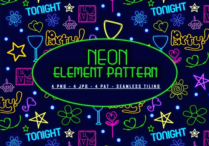 Neon element patroon