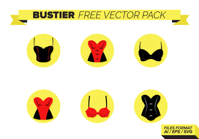 Bustier Free Vector Pack