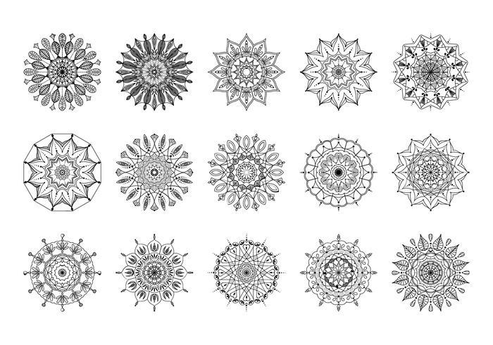 Gratis Mandala-penselen