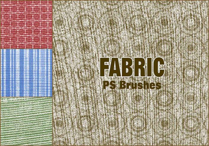 20 Fabric PS-borstels abr