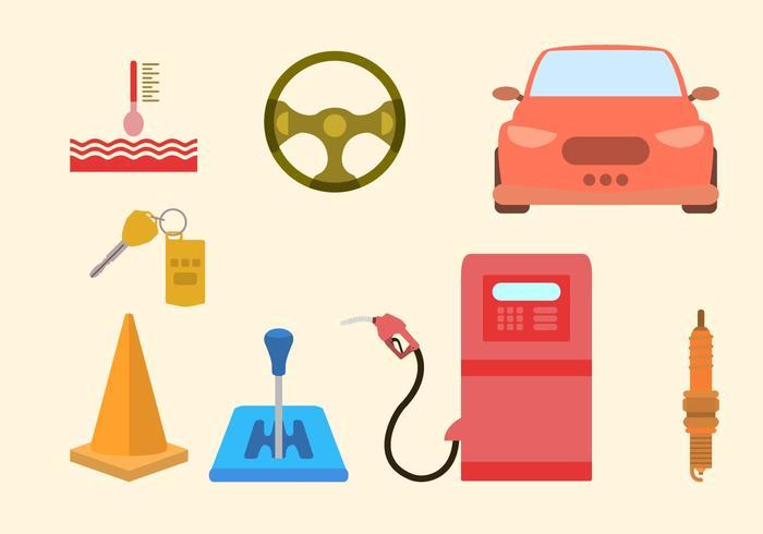 Kostenlose bunte Auto Vektoren