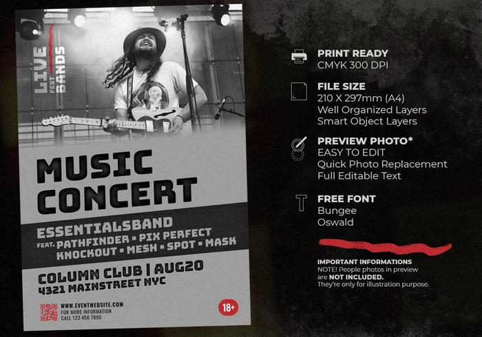 Live Music Concert Template