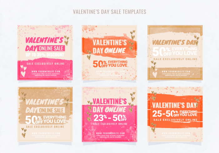Instagram Valentine's Day Sale Template