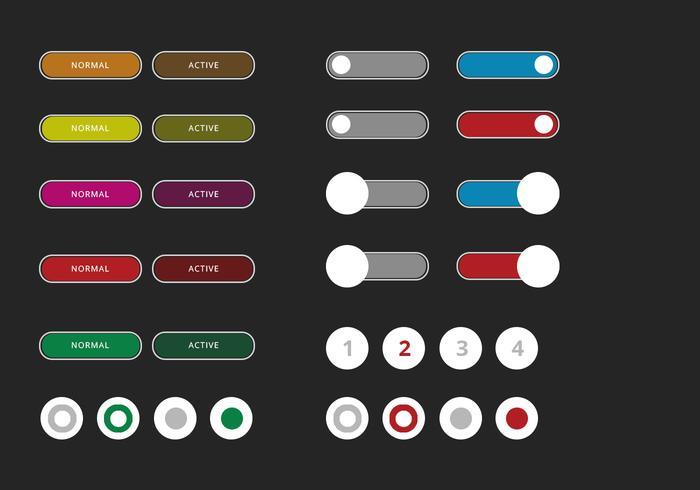 Kit de interface do usuário de elementos da Web