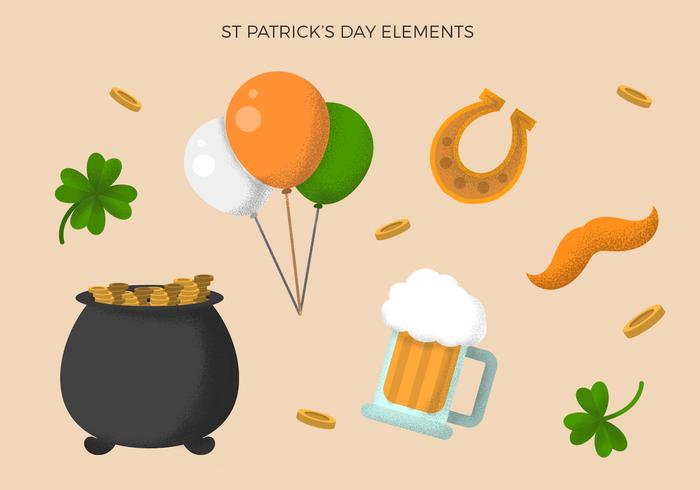 Vintage St Patrick's Day Element Collecties